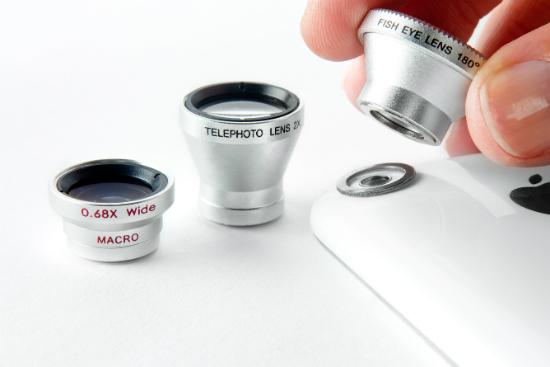 Photojojo Lenses - встроенные объективы для iPhone
