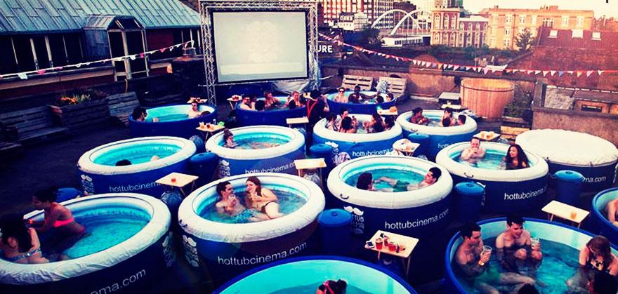 Кинотеатр «Горячая ванна» (Hot Tube), Лондон, Великобритания