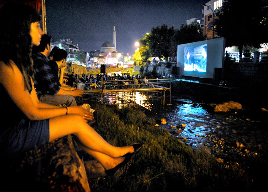 Приштин, кинотеатр «Riverbad» для фестиваля