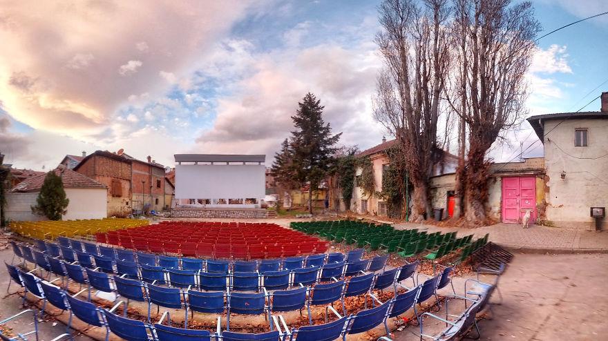 Приштин, кинотеатр «Lumbardhi»