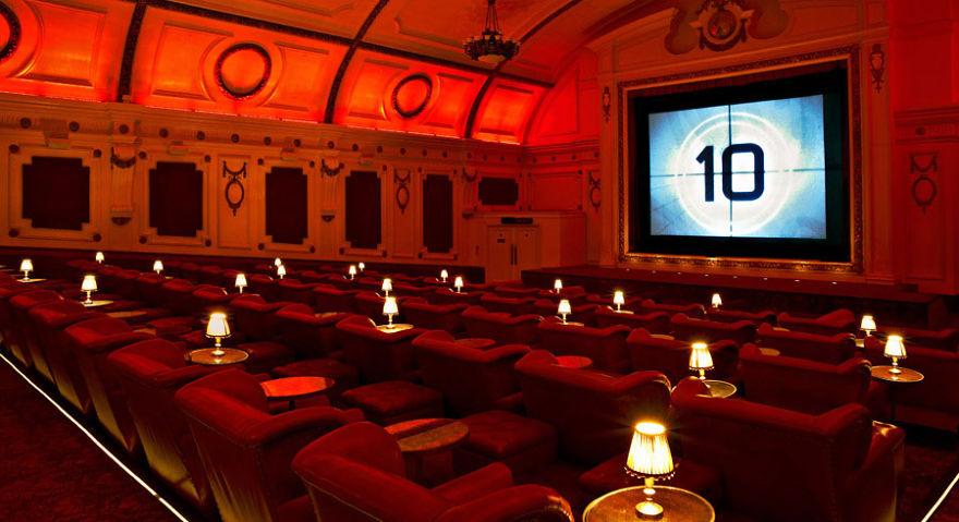 Кинотеатр «Электрик», Ноттинг Хилл, США (Electric Cinema).