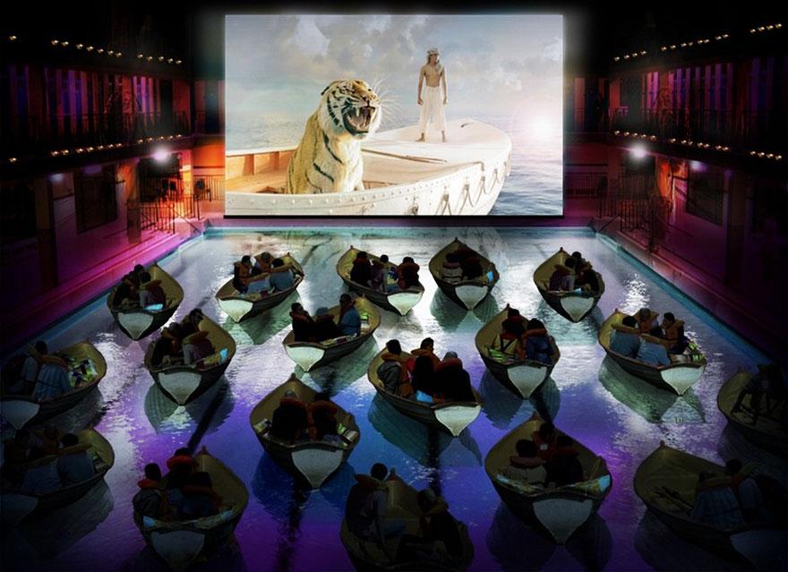Театр Кино, Париж