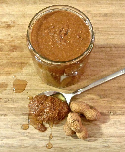 Печеное арахисовое масло с медом