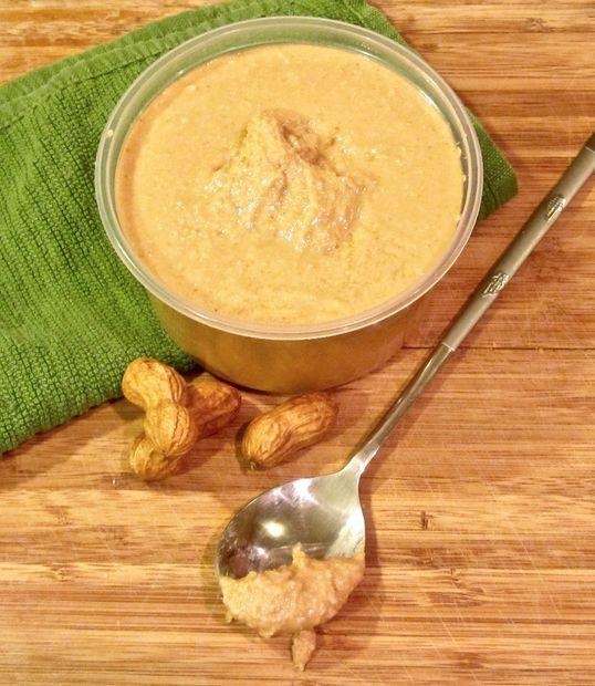 Как быстро приготовить полезное сладкое: арахисовое масло за 5 мин - с добавками