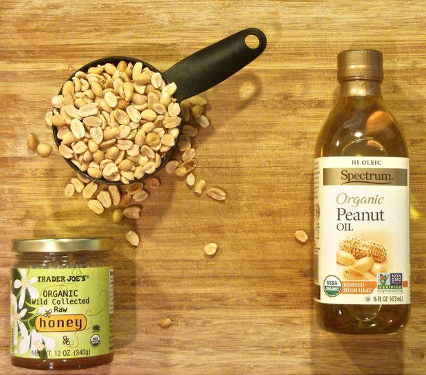 Как быстро приготовить полезное сладкое: арахисовое масло за 5 мин - исходные ингредиенты