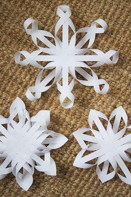 Как сделать «апгрейд» обычных бумажных снежинок на Новый год – ч. 2