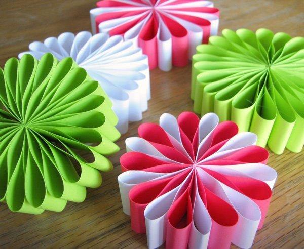 Новогодние игрушки своими руками фото из бумаги