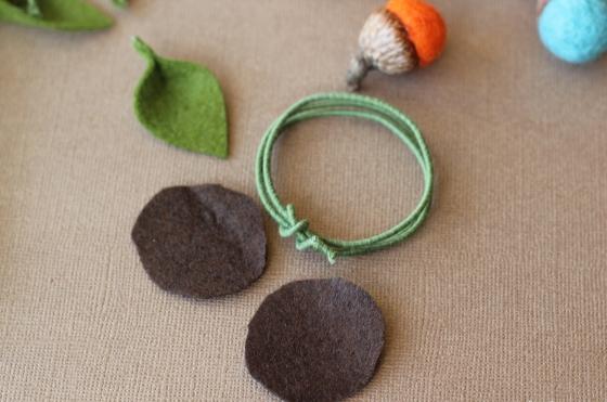 Как сделать декоративные кольца для салфеток в осенней стилистике