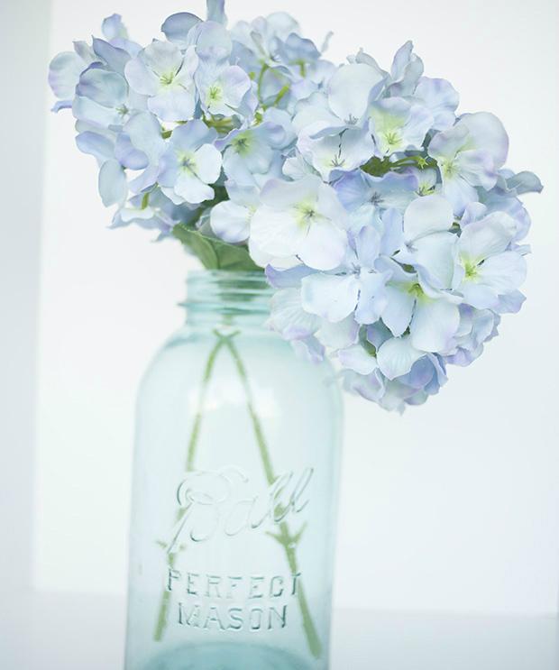 цветы в банке, съемка на автоматическом режиме Shade