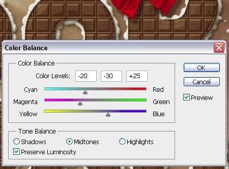 Photoshop: в меню в пункт «Изображение» (Image), в нем «Коррекция» (Adjustments) и«Цветовой баланс» (Color balance).
