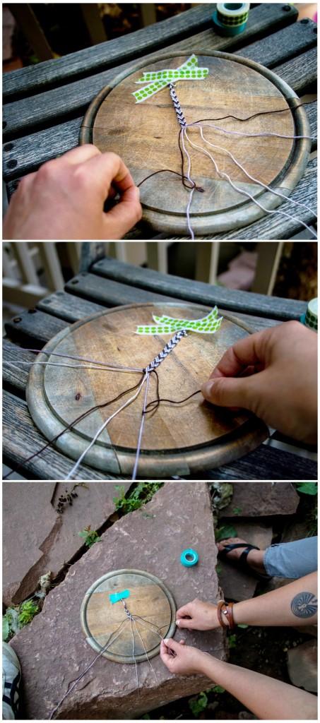 инструкция в картинках по плетению браслета дружбы феньки фенечки