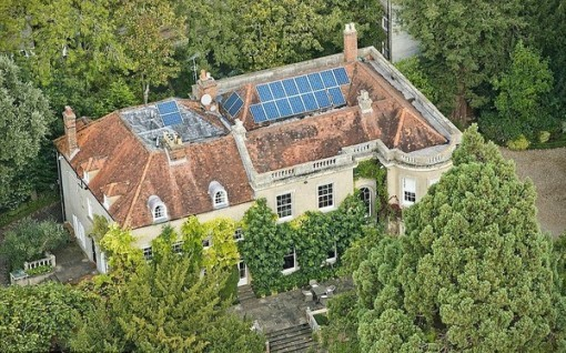 Как живут звезды: особняк Джорджа Клуни в Англии