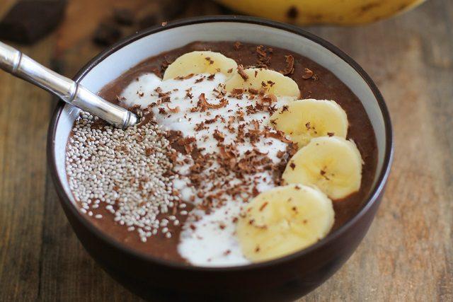 Миска асаи с какао и бананом – для заряда энергии