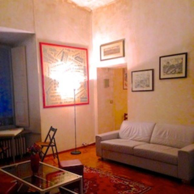 Уютная частная римская квартира, недорого сдаваемая внаем