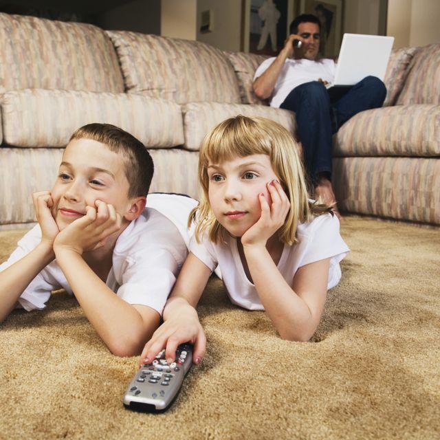Телевизор сажает зрение