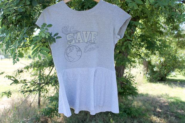 готовая футболка с баской своими руками
