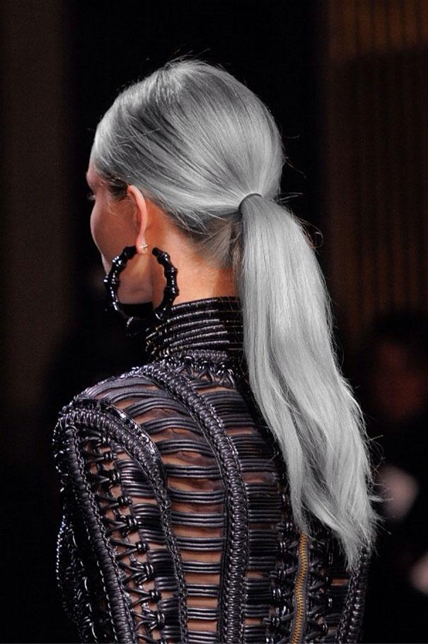 новый мировой тренд в окрашивании: «бабушкины» или седые волосы