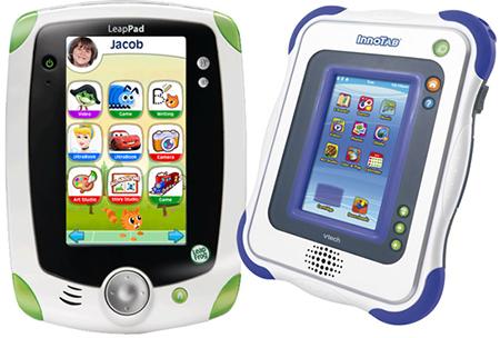 Девайсы для детей имеют экраны размером 8х13 см, которые даже близко нельзя сравнивать с разрешением настоящего iPad(а)