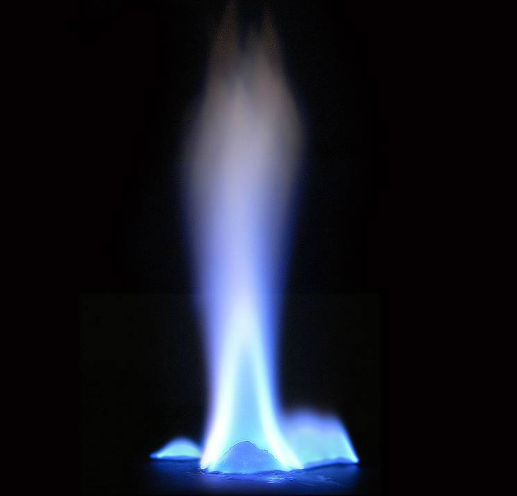 голубой огонь