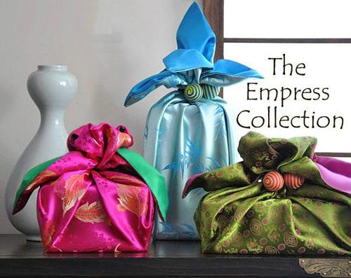 Как упаковывать подарки в боджаги (платок, традиционные корейские техники) - императорская коллекция
