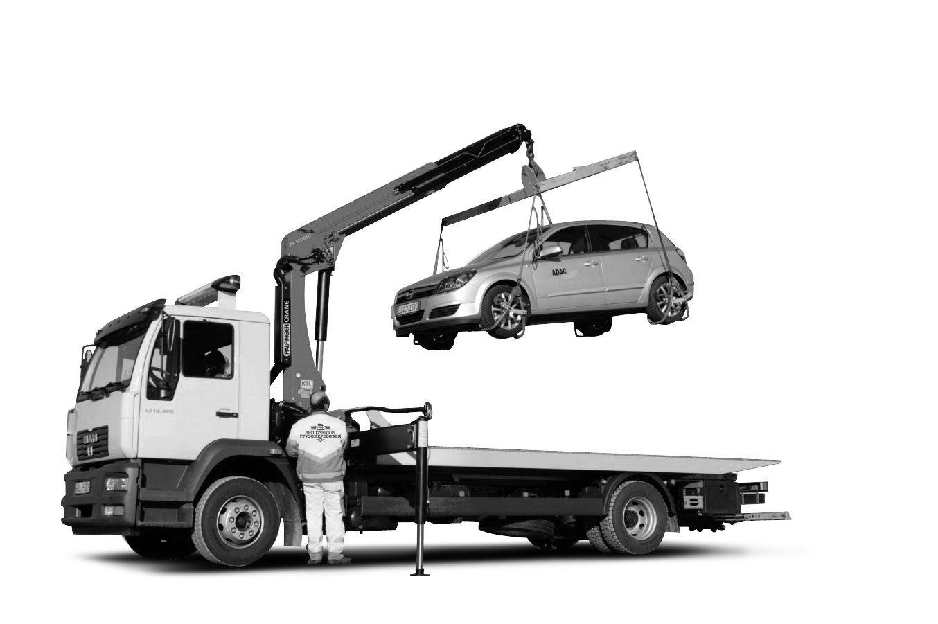 Как работает эвакуаторная техника: доставка поврежденного автотранспорта