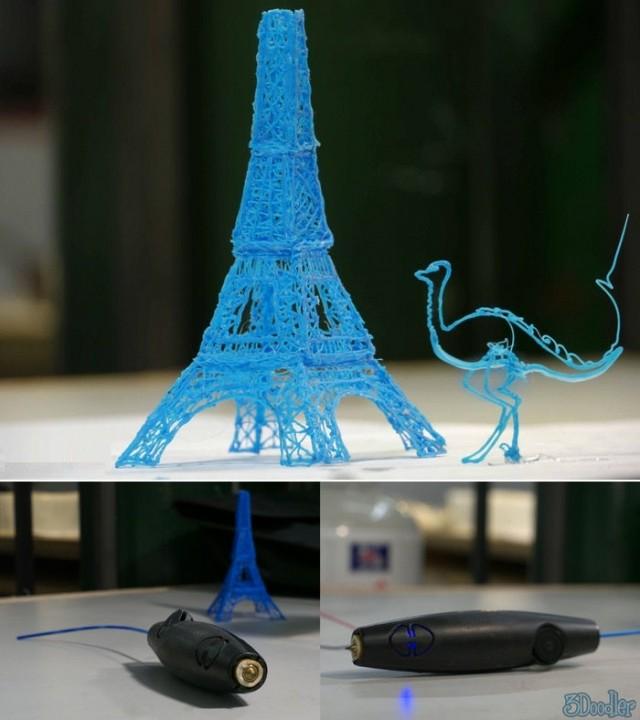 3D ручка (3Doodler): портативный 3D принтер