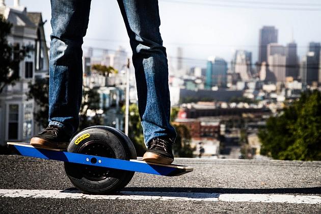 Onewheel: электроскейтборд с одним колесом
