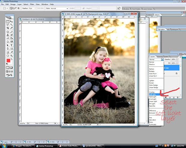 уроки фотошоп: делаем фотографию более яркой - настроим прозрачность по своему вкусу