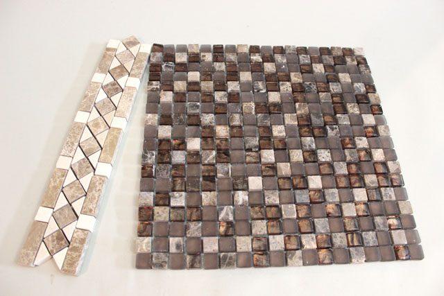 сразу купить готовую мозаику из мелких раздельных кусочков плитки