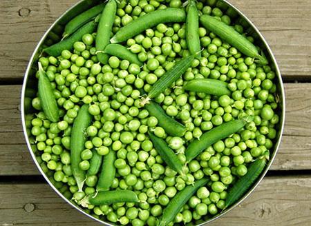 Как правильно заморозить зеленый горошек