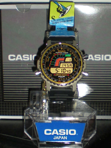 Часы для серфинга от Casio