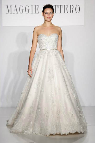 свадебная мода 2014: бальное платье принцессы