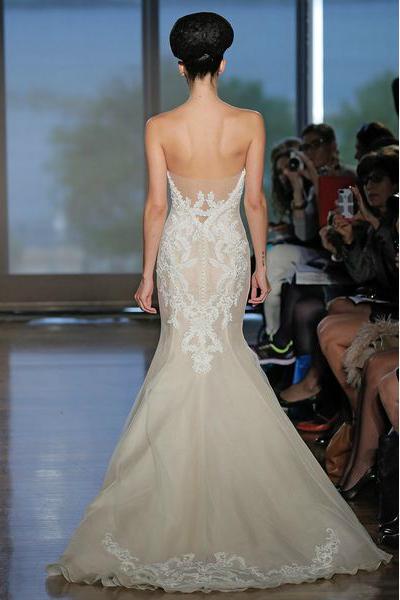 свадебная мода 2014: акцент на спину