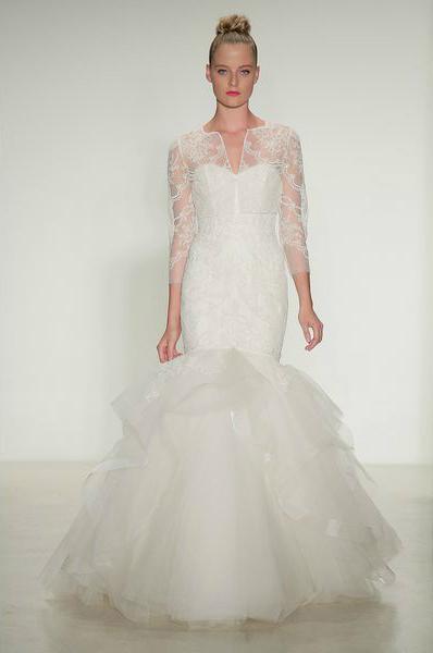 свадебная мода 2014: рукава, кружевные рубашки, кофточки