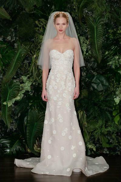 свадебная мода 2014: органические ткани