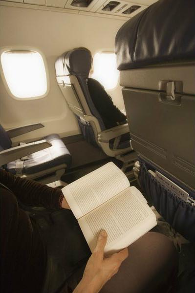 печатная макулатрура в самолете