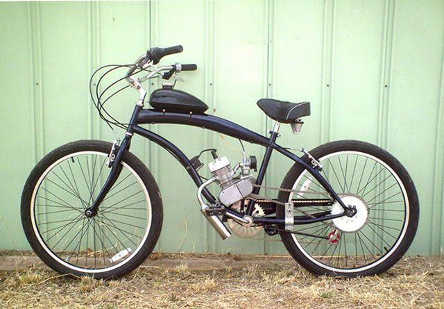Переделайте старый велосипед в мопед