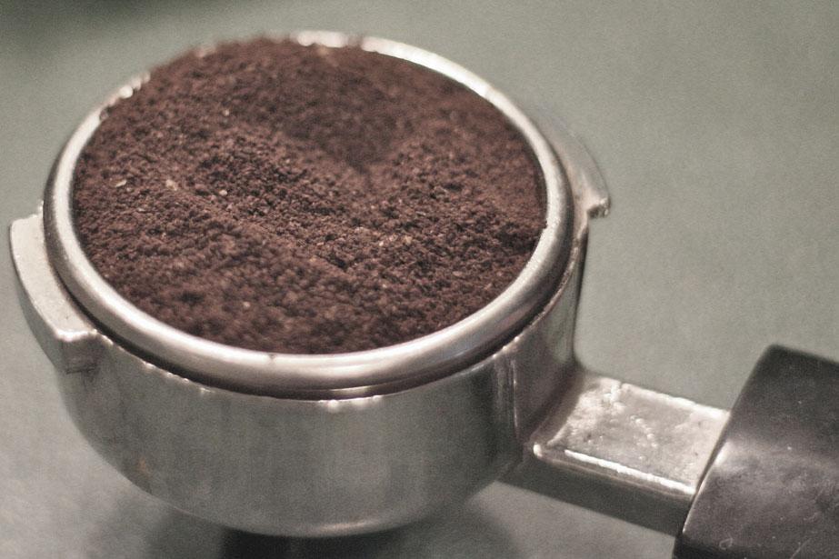Эспрессо-зерна мелкого помола