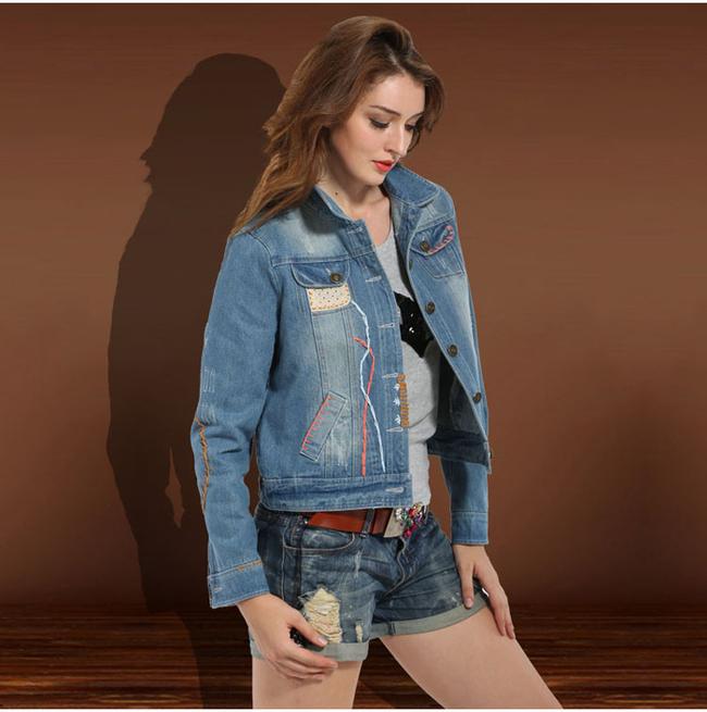 пэчворк в декорировании джинсовых рубашек, курток и жилетов