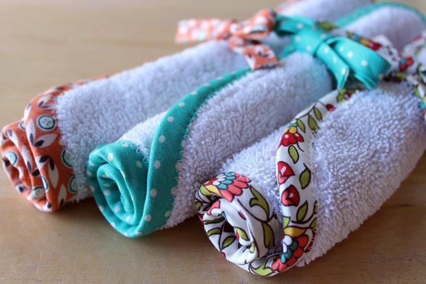 Как сшить веселые дачные или детские полотенца из старых махровых