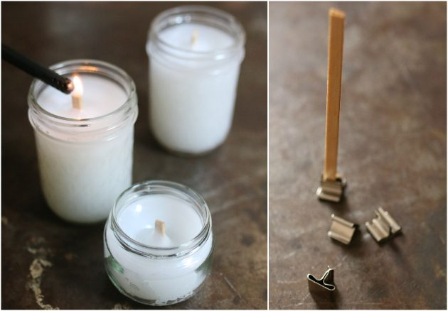 Как сделать деревянные фитили для самодельных свечей и сами свечи