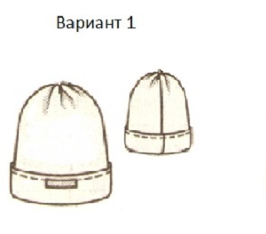 Самая простая детская шапочка из флиса