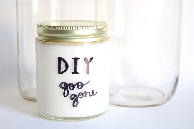 Как сделать домашний состав для удаления липких субстанций (аналог Goo Gone) своими руками