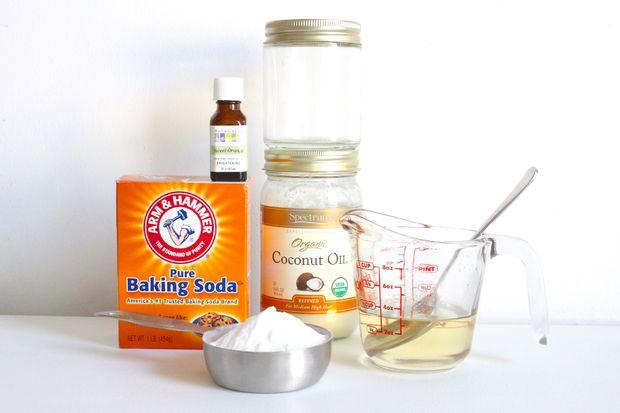 ингредиенты для домашнего аналога чистящего средства Goo Gone