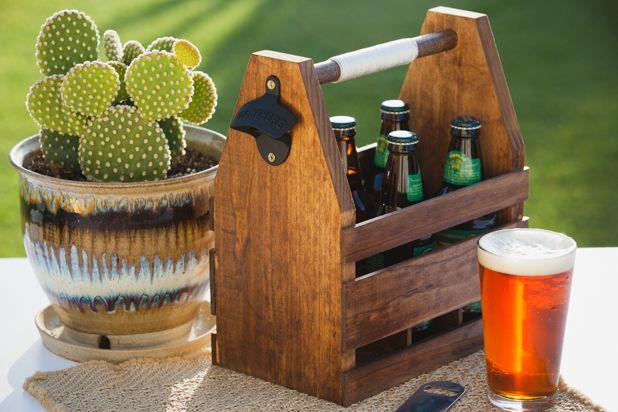 Как сделать деревянный ящик-переноску для пива своими руками