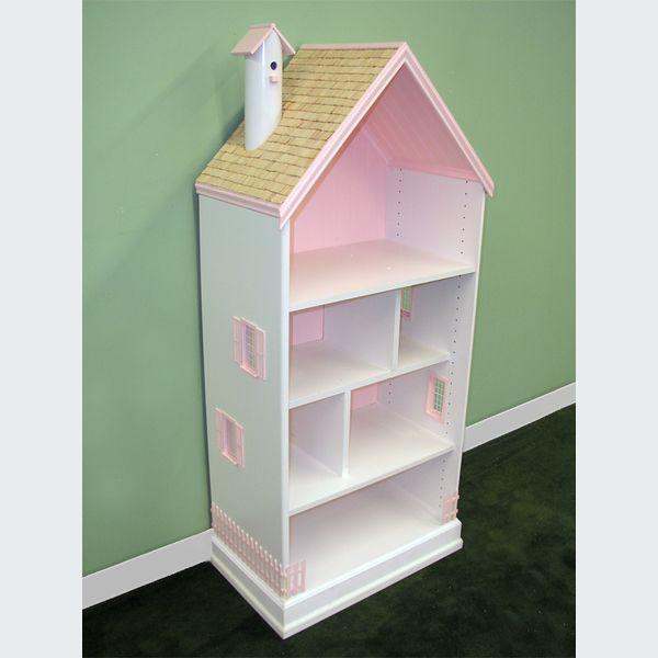 готовый кукольный домик своими руками тире полка для книг