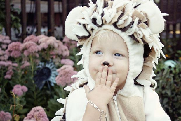 Как сделать детский костюм ежика для карнавала или Хэллоуина
