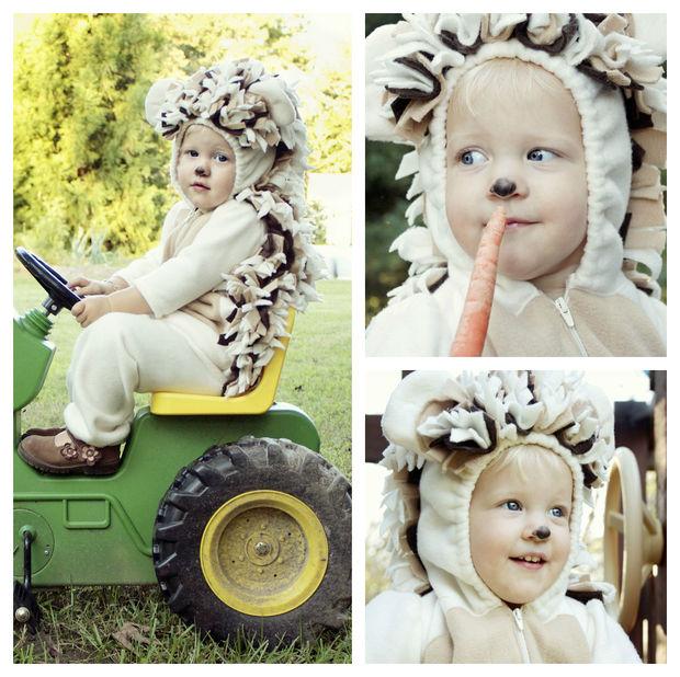 Одеваем вашего ребенка и выпускам ежика в «дикую природу», чтобы посмотреть, что она или он будут делать!
