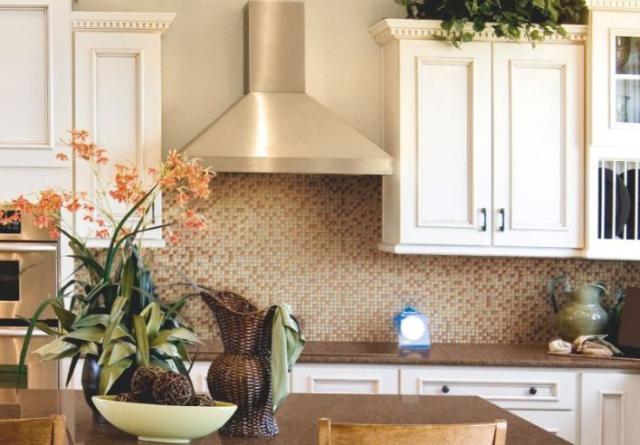 Как выбрать современный дизайн рабочей стенки/фартука для кухни - фарфор под дерево