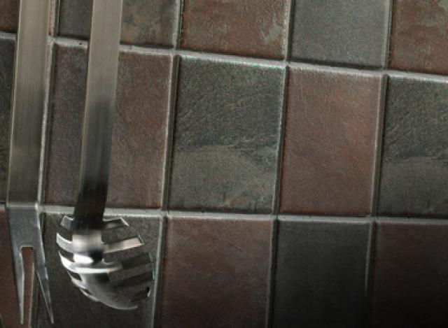 Как выбрать современный дизайн рабочей стенки/фартука для кухни - индийский сланец